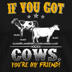 Cow Animal Cows Farm Gift · My friend
