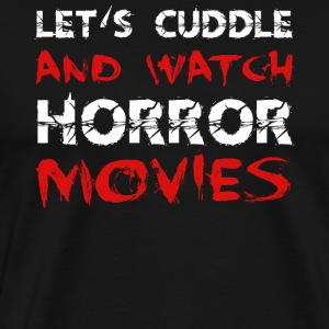 Horror movie cuddling boyfriend girlfriend gift idea