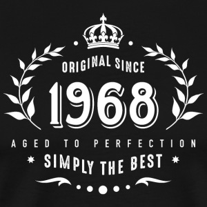original since 1968 simply the best 50th birthday