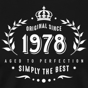 original since 1978 simply the best 40th birthday