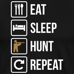 Eat Sleep Hunt Upprepa Guns