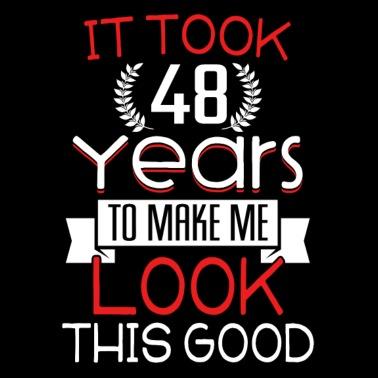 Pledge Verjaardag 48 Jaar Oud Shirt Gift Mannen Premium T Shirt