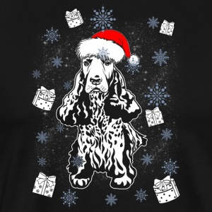 Cocker Spaniel Santa Christmas Gift Dog Ras