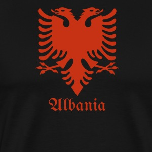 "Albanian Eagle Albanien Flagge "" Red """