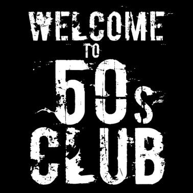50th Birthday Men Women Round