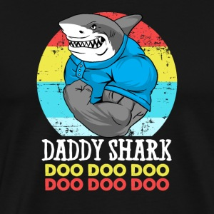 Daddy Shark Doo Doo Father Father's Day Hai Gift