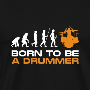 Drum Shirt Drummer Gift · Evolution