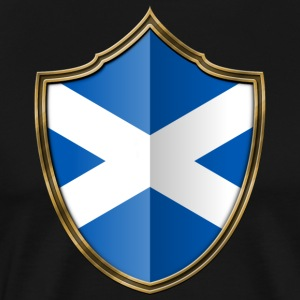 Scotland Flag Coat of Arms Gold 016