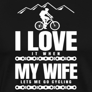 Gift man friend mountain biker mountain bike