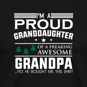 Proud granddaughter gift grandfather funny
