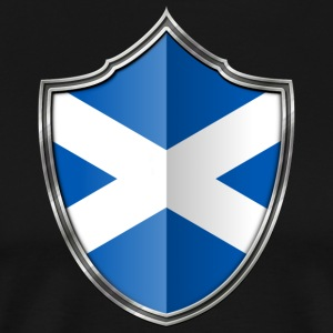 Scotland Flag Coat of Arms Silver 015
