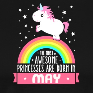 Funny unicorn princess birthday in May