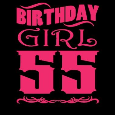 Verjaardag Meisje 55 Jaar Oud Mannen Premium T Shirt Spreadshirt