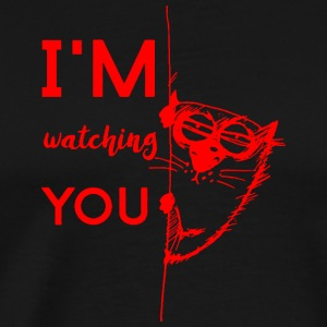 IAM Watching You rosso