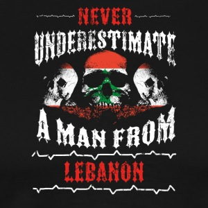 never underestimate man LEBANON