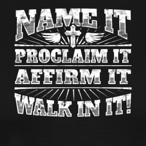 Cool Christian saying: Walk In It!