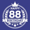 Happy 88. Birthday - Männer Premium T-Shirt
