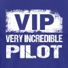 Funny VIP Very Incredible Pilot Aviation Aviation - Men's Premium T-Shirt