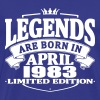Legends are born in april 1983 - Men's Premium T-Shirt