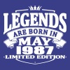 Legends are born in may 1987 - Men's Premium T-Shirt