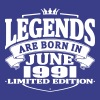 Legends are born in june 1991 - Men's Premium T-Shirt