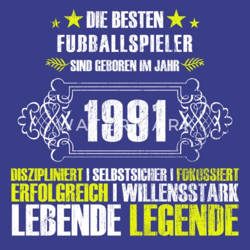Geschenk Zum 26 Geburtstag Fur Fussballspieler Manner Premium T