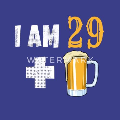30 Geburtstag 29 Plus Bier Liebhaber Bierglas Manner Premium T