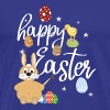 Happy Easter - Funny Easter T-Shirt Gift - Men's Premium T-Shirt