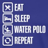 Eat Sleep Water Polo Repeat - T-shirt Premium Homme
