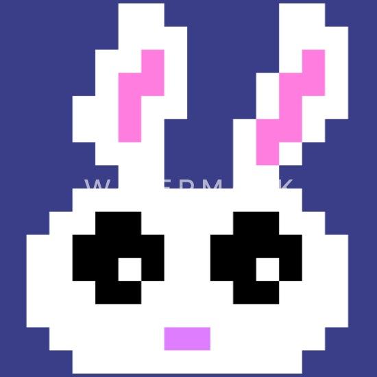 Cadeau De Lapin De Pâques Pixelart Oeuf Pixel Idée Pâques T