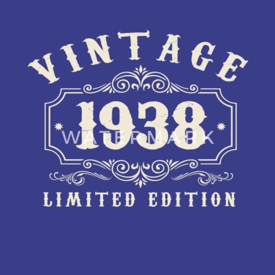 1938 80ste Verjaardag 80 Jaar Gift Mannen Premium T Shirt