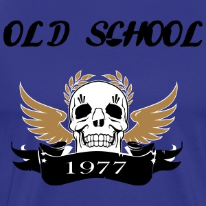 Old school1977 - Men's Premium T-Shirt