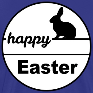 Happy Easter konijn eieren easter egg 2c - Mannen Premium T-shirt