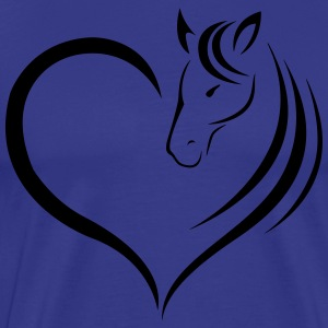 Horse Lovers - Leuke Shirt for Girls - Mannen Premium T-shirt