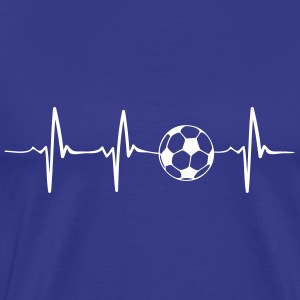 Heartbeat Football - football - football - Men's Premium T-Shirt