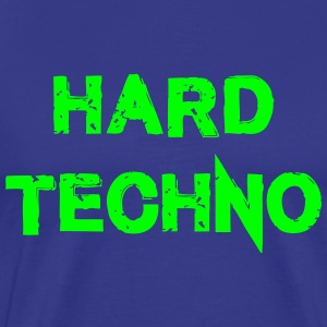 Hard Techno - Männer Premium T-Shirt
