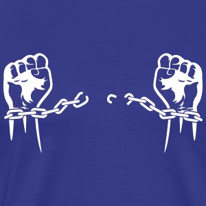 A Prisoner Is Freed From His Chains! - Men's Premium T-Shirt
