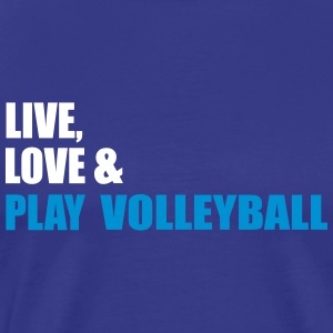volleybal - Mannen Premium T-shirt