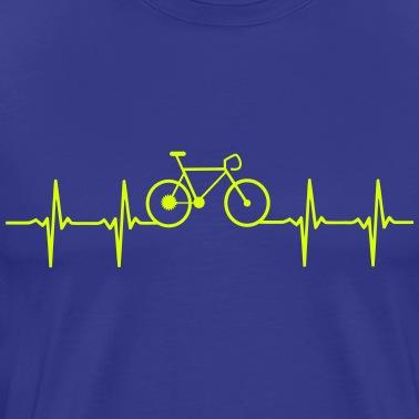 lustige fahrrad shirt design m nner premium t shirt. Black Bedroom Furniture Sets. Home Design Ideas