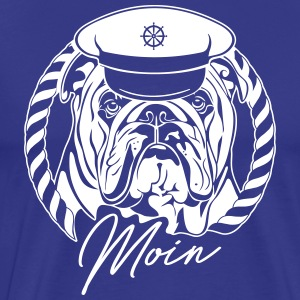 ENGLISH BULLDOG MOIN - Men's Premium T-Shirt