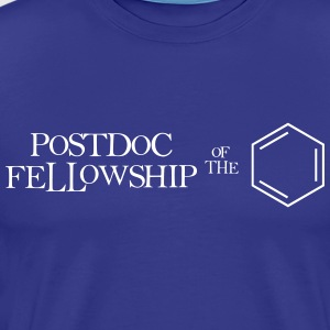 Postdoc Fellowship of the Ring - Men's Premium T-Shirt