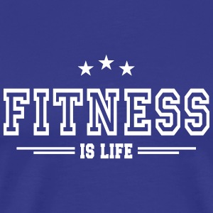 fitness is life II - Men's Premium T-Shirt