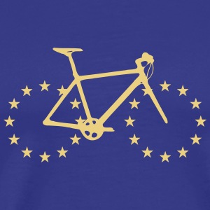 Bicycle with tires from stars - Men's Premium T-Shirt