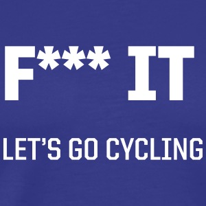 Let's go cycling - Men's Premium T-Shirt