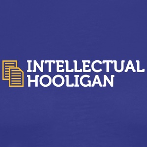Intellectuele Hooligan - Mannen Premium T-shirt