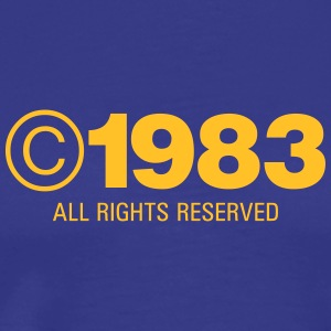 Copyright 1983 - Men's Premium T-Shirt