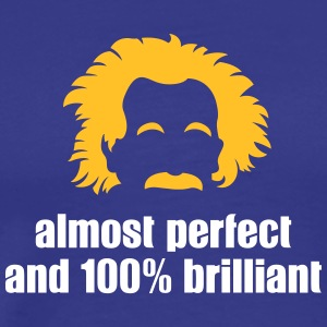 Almost Perfect And 100% Brilliant - Men's Premium T-Shirt