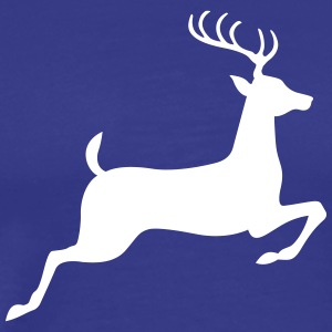 A Jumping Deer - Men's Premium T-Shirt