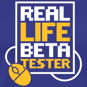 Real Life Beta Testers! - Men's Premium T-Shirt