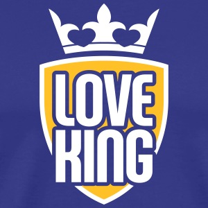 The Love King - Men's Premium T-Shirt